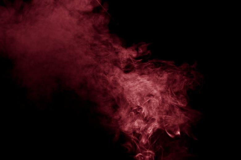 Free Stock Photo of Red Smoke Created by Bjorgvin Gudmundsson