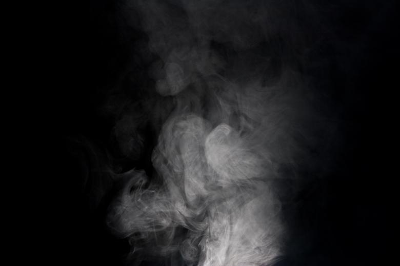 Free Stock Photo of White Smoke Effect on Black Created by Bjorgvin