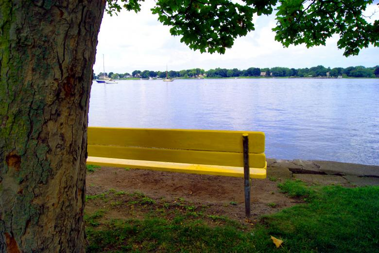 Free Stock Photo of Waterfront Bench Created by Brian Norcross