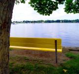 Free Photo - Waterfront Bench