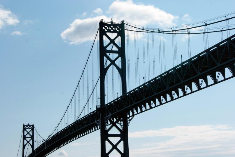 Free Stock Photo of Tall Steel Bridge Created by Brian Norcross