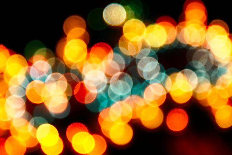 Free Stock Photo of Abstract Lights Created by Darren Hester