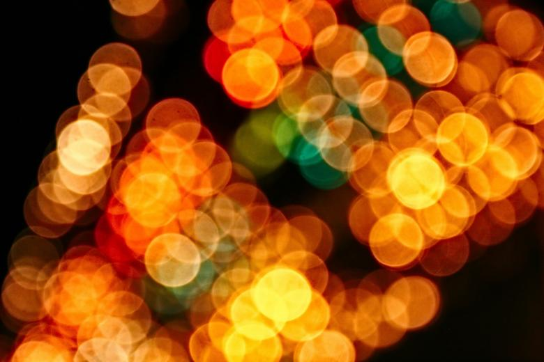 Free Stock Photo of Blurry Lights Created by Darren Hester