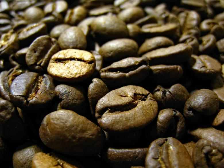 Free Stock Photo of Coffee Beans Up Close Created by Darren Hester