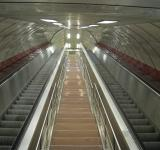 Free Photo - Escalator in metro