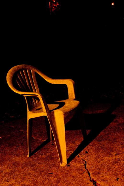 Free Stock Photo of Plastic chair Created by Adam Garza