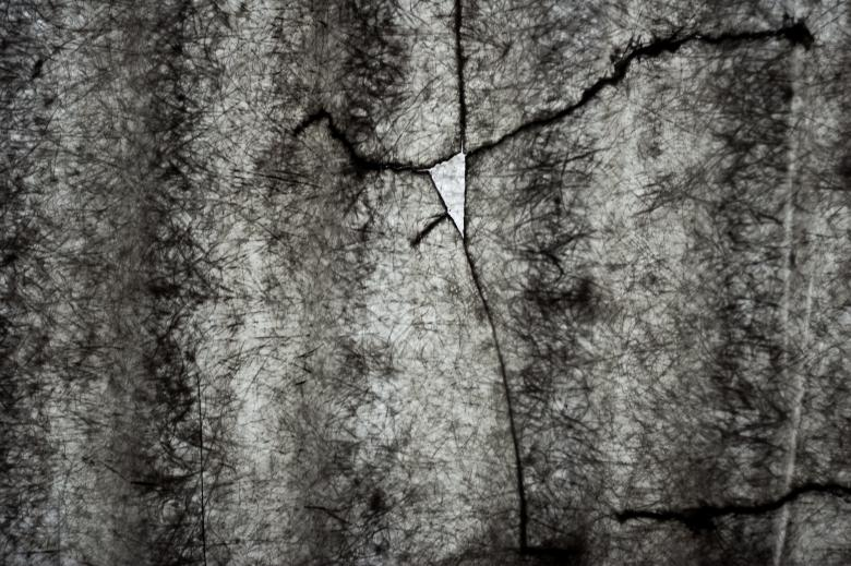 Free Stock Photo of Cracked Plastic Texture Created by Bjorgvin