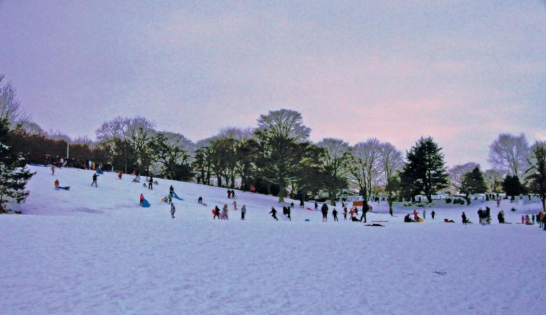 Free Stock Photo of Lowry Sledging Created by Jason Clark