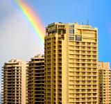 Free Photo - Surfers Paradise Rainbow