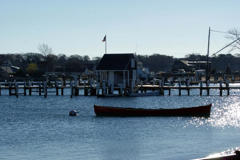 Free Stock Photo of Small Boat In Harbor Created by Brian Norcross