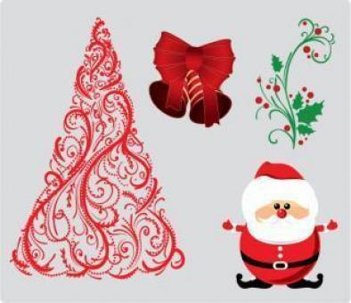 Christmas Vector Illustration - Free Stock Photo