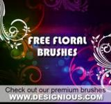 Free Photo - Floral Photoshop Brushes
