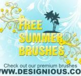 Free Photo - Summer Photoshop Brushes