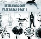 Free Photo - Photoshop Brush Pack 1