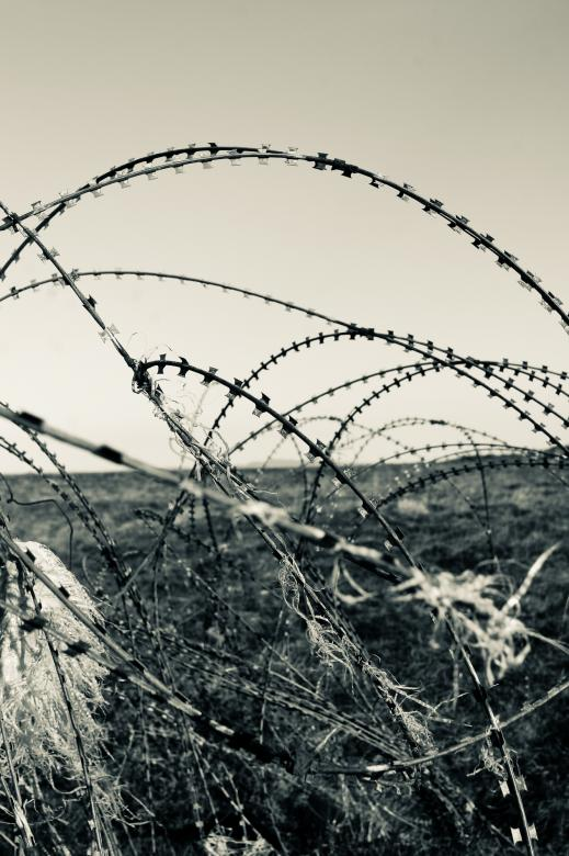 Free Stock Photo of Barbed Wire Created by Bjorgvin Gudmundsson