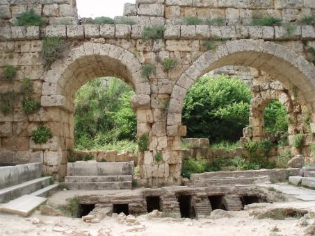 Ancient Roman bath in Perge - Free Stock Photo