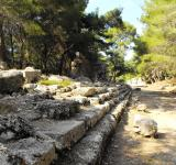 Free Photo - Main street in ancient Phazelis