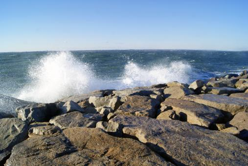 Crashing Waves - Free Stock Photo