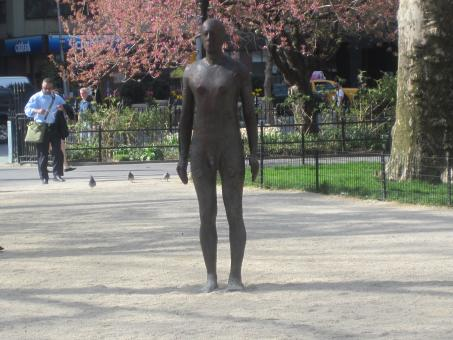 Nude man Sculpture - Free Stock Photo