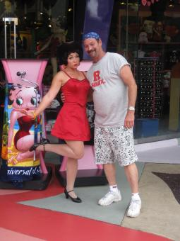 Me and Betty Boop - Free Stock Photo