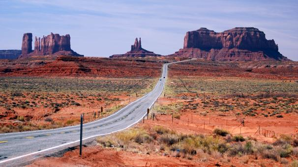 Desert road - Free Stock Photo