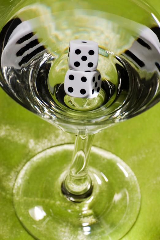 Free Stock Photo of Dices cocktail Created by Peter Tompkins