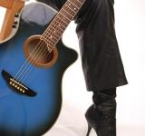 Free Photo - Blue Guitar