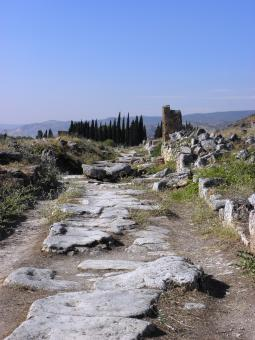 Ancient roman road - Free Stock Photo