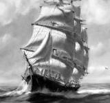 Free Photo - Tall Ship Painting