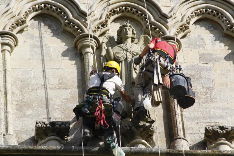 Free Stock Photo of Stone Masons Created by paul clifton