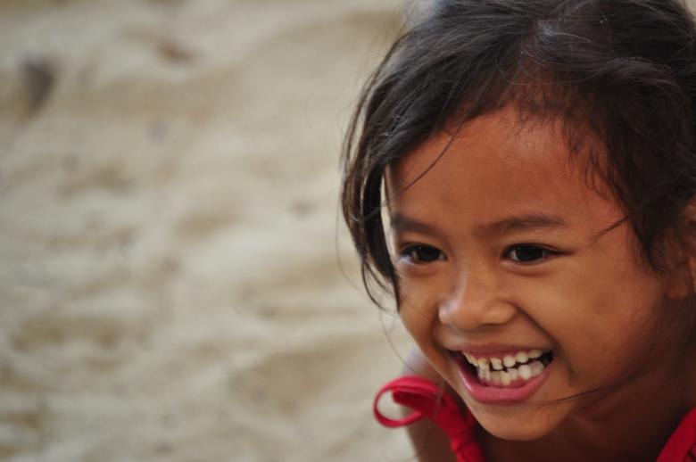 Free Stock Photo of Smiling girl in Bulata Created by Eduardo Cleofe