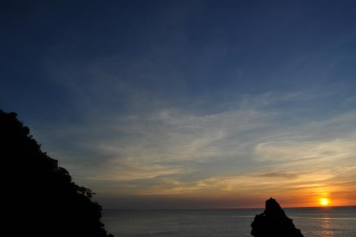 Sunset in Sipalay - Free Stock Photo