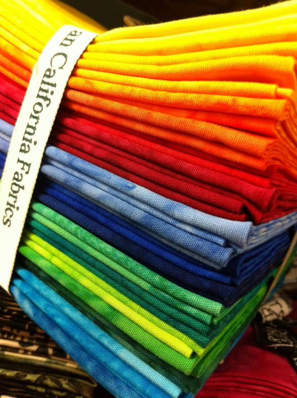 Free Stock Photo of Rainbow Fabric Created by Trent Ellingsen