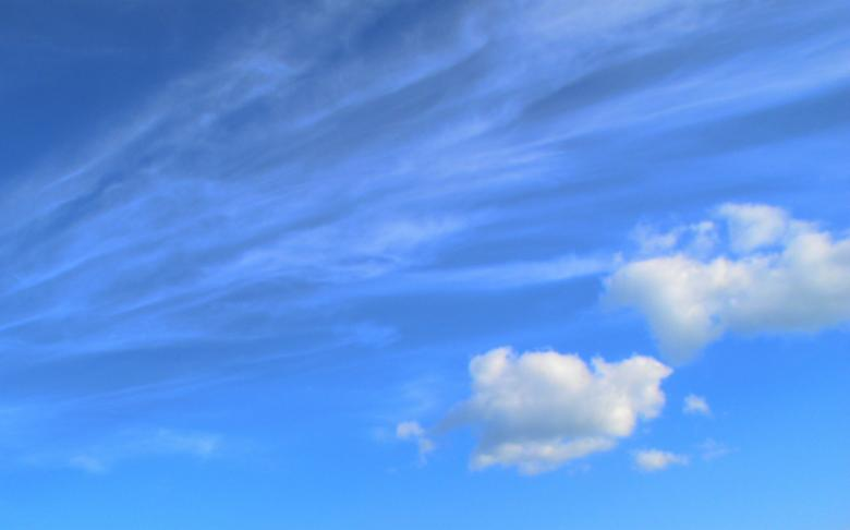 Free Stock Photo of Light Blue Sky Created by Kate Towers