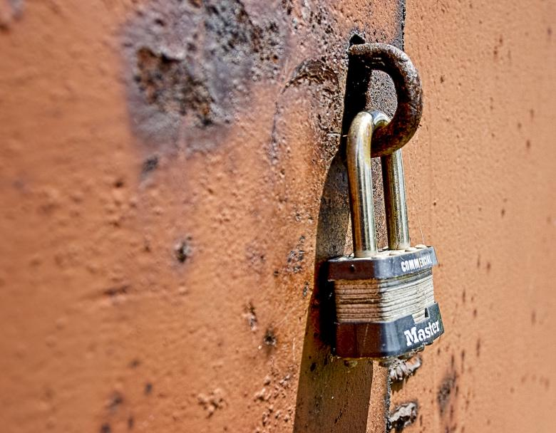 Free Stock Photo of Master Lock Created by Randen Pederson