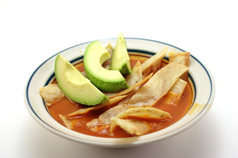 Free Stock Photo of Tortilla soup Created by homero chapa