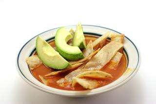Tortilla soup Free Photo