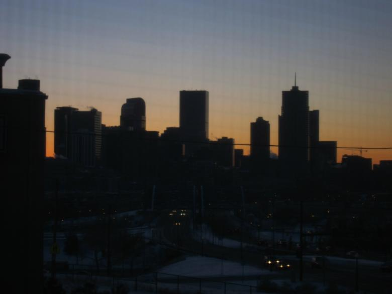 Free Stock Photo of Denver sunrise Created by Brian