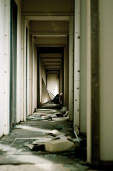 Abandoned Hallway - Free Stock Photo