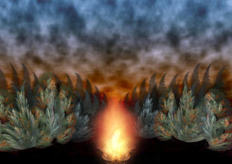 Free Stock Photo of Bonfire background Created by Barbara Din