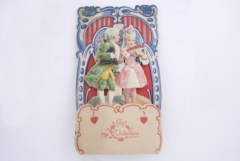 Free Stock Photo of Victorian Valentine Card Created by Angela Sickelsmith
