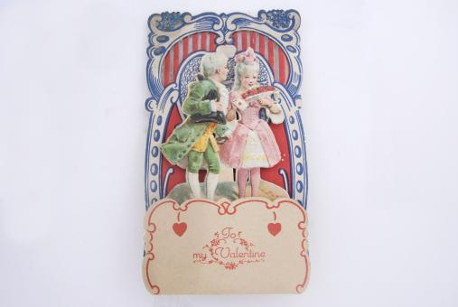 Victorian Valentine Card - Free Stock Photo