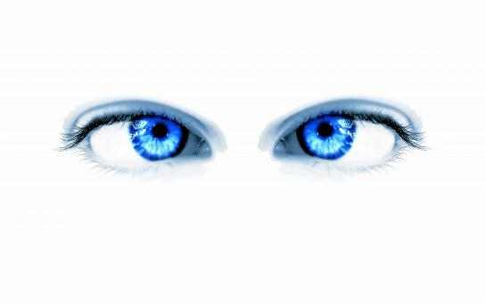 blue eyes face - Free Stock Photo