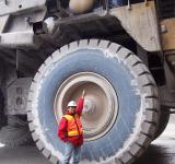 Free Photo - Me on the tire haul truck