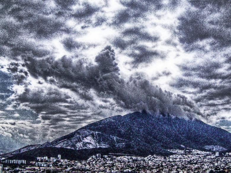Volcanic Eruption Free Photo