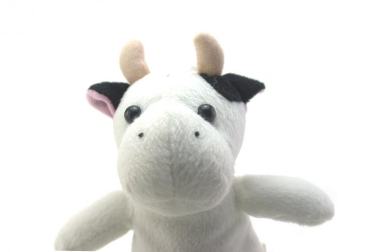 Funny cow toy Free Photo