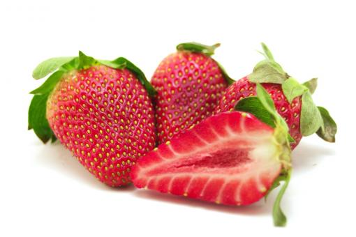Four strawberries - Free Stock Photo