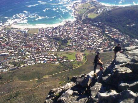 Young mountaineers at Table Mountain - Free Stock Photo