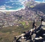 Free Photo - Young mountaineers at Table Mountain
