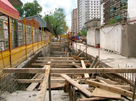 Subway Construction - Free Stock Photo